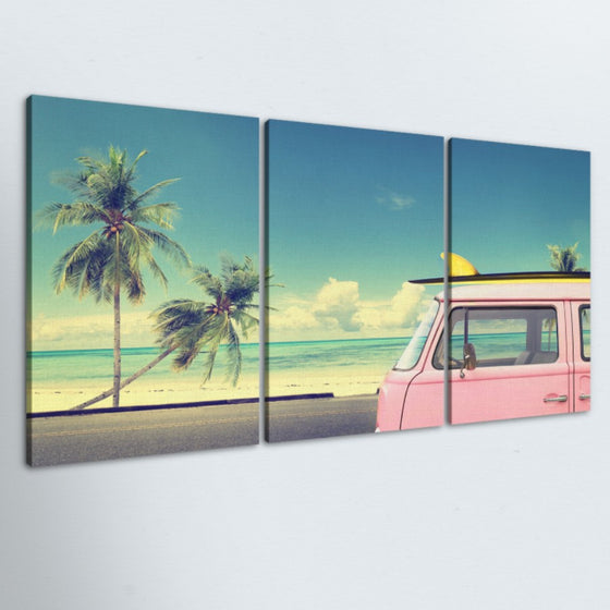 Nomadic Surfer 3 Piece Canvas