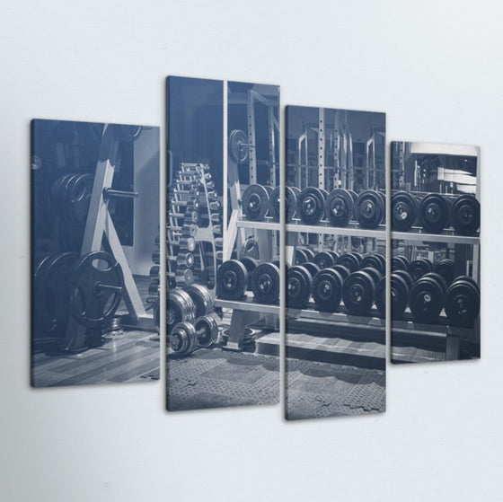 Weight Rack 4 Piece Canvas