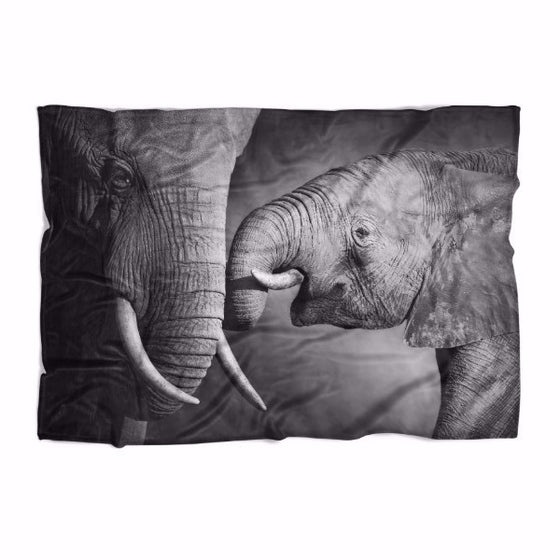Elephant Love Blanket