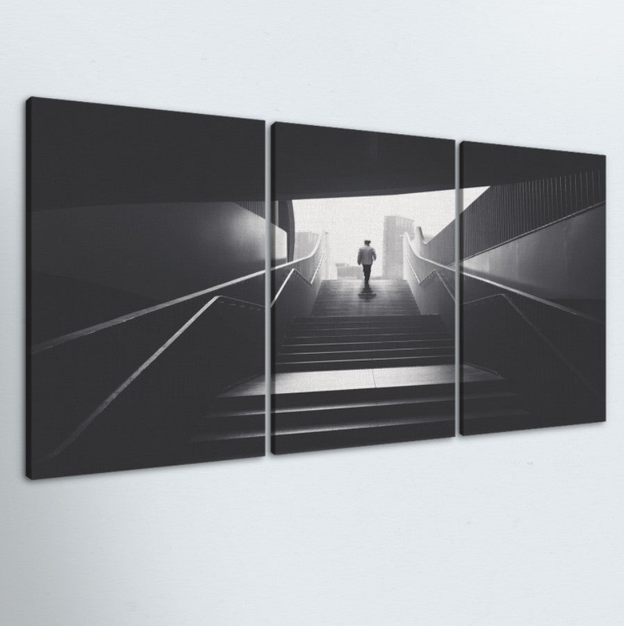 Staircase 3 Piece Canvas