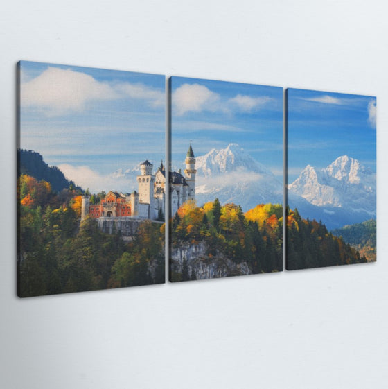 Castle 3 Piece Canvas