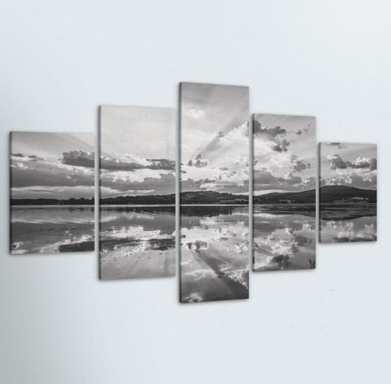 Mirror 5 Piece Canvas