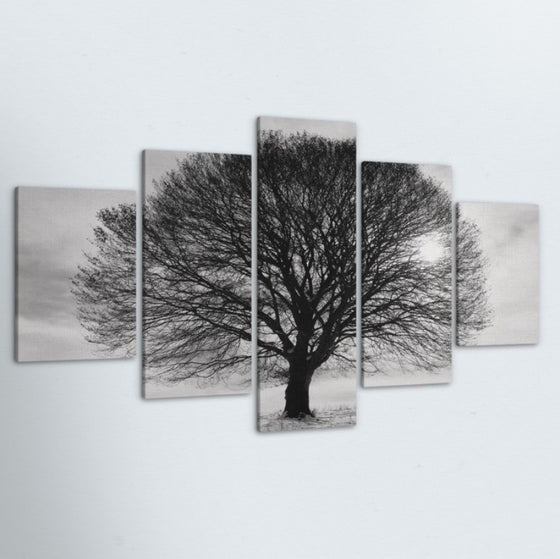 Roots 5 Piece Canvas