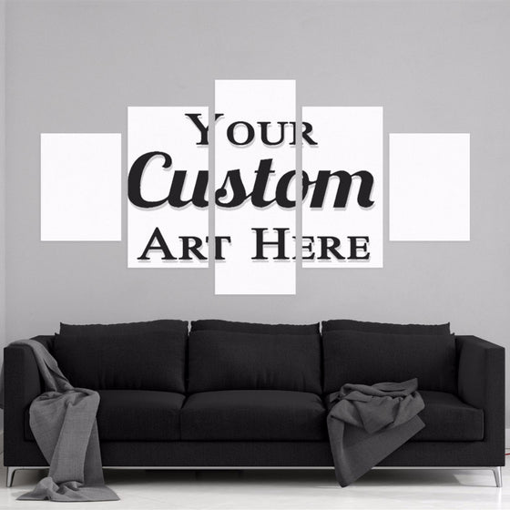 5 Piece Custom Canvas