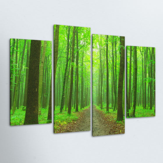 The Path 4 Piece Canvas