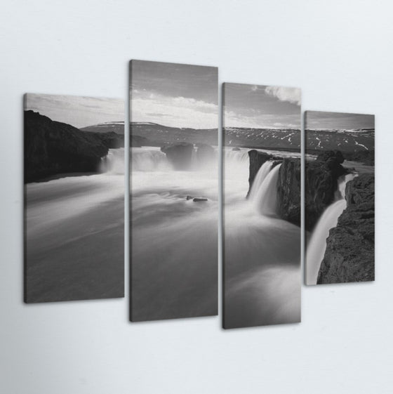 Flow 4 Piece Canvas