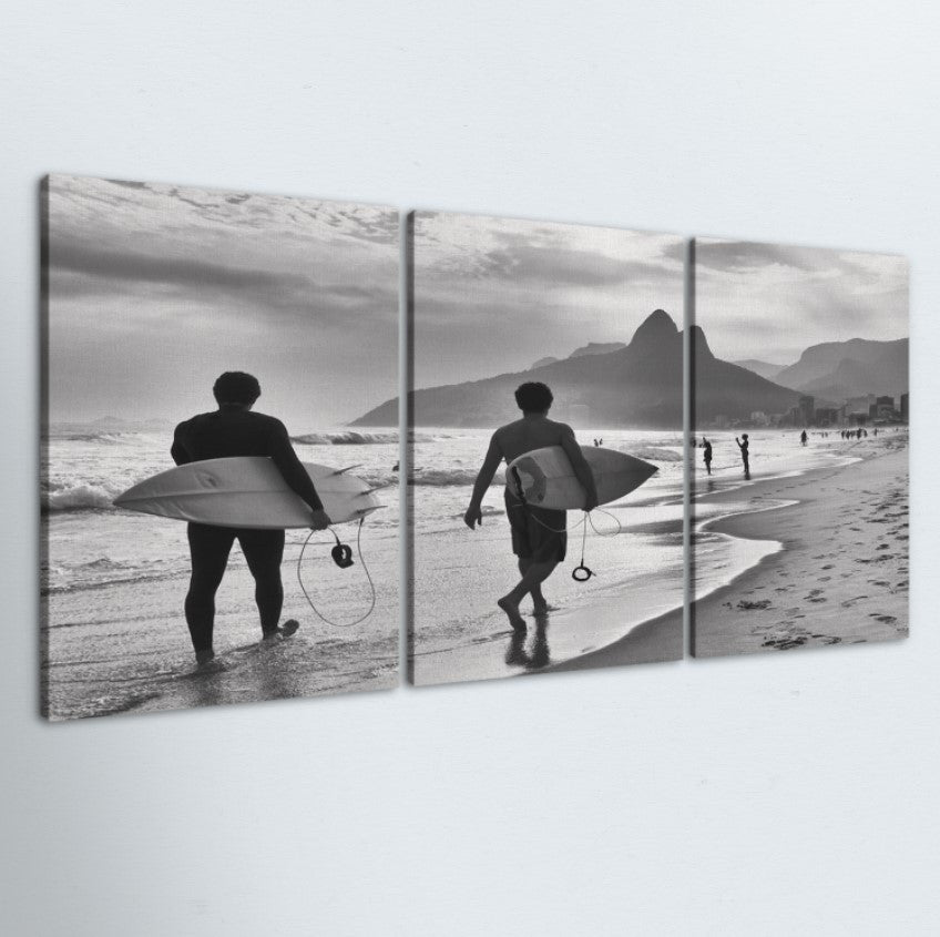 The Search 3 Piece Canvas