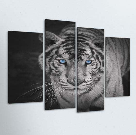 Fierce 4 Piece Canvas