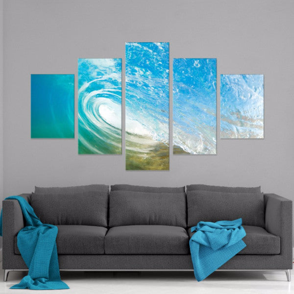 Tranquil Sea 5 Piece Canvas
