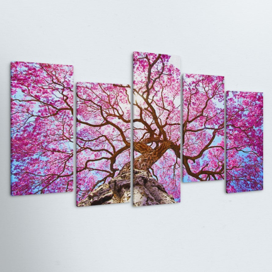 Bloom 5 Piece Canvas