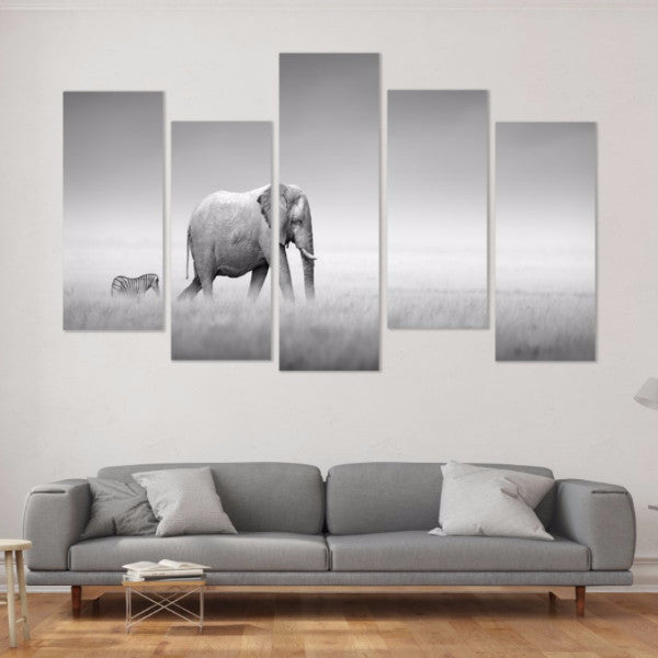 The Journey 5 Piece Canvas