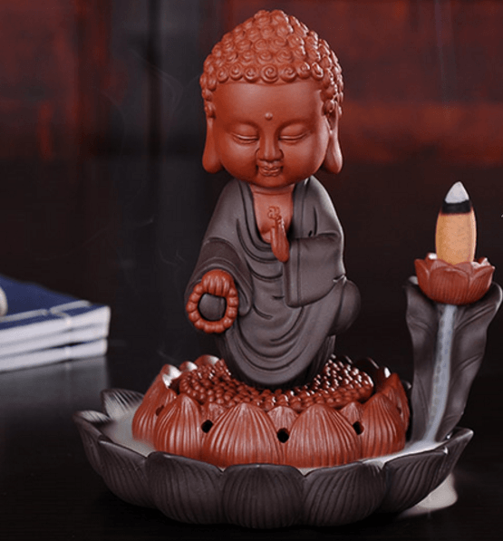 Buddha Dual Incense Burner