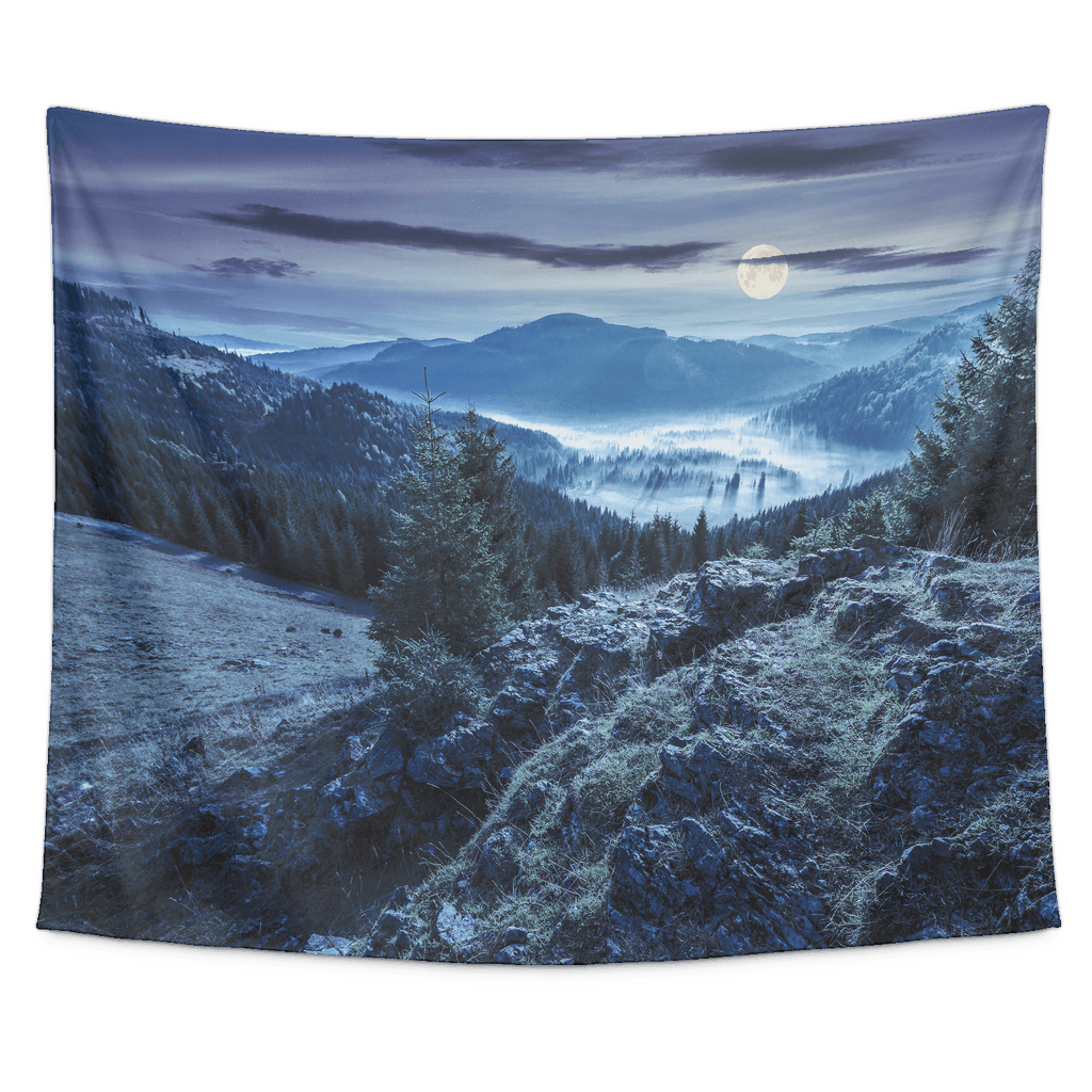 Gloomy Canyon Tapestry