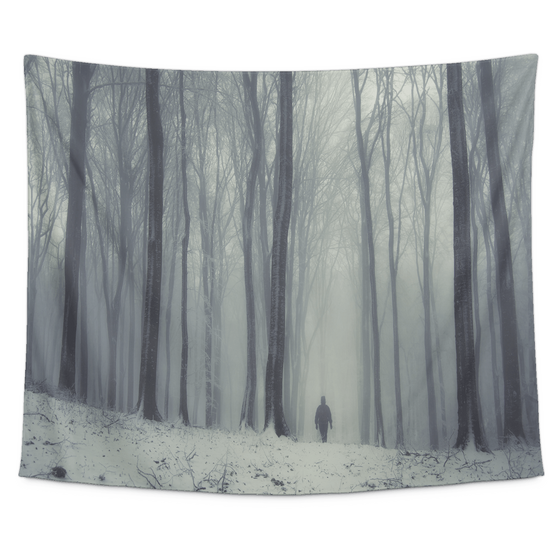 Dark woods Tapestry