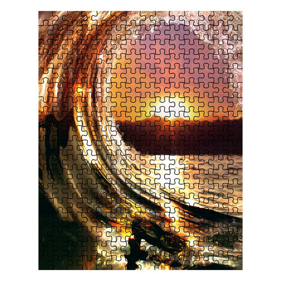 Sunset Wave Puzzle