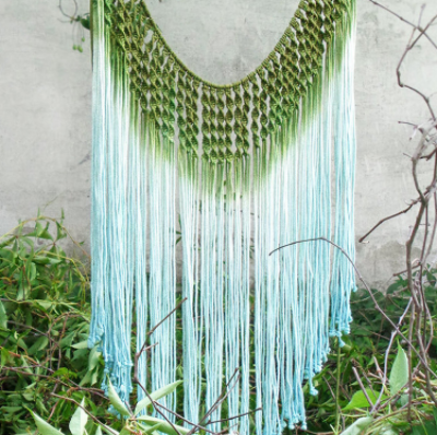 Blue Bohemian Wall Hanging