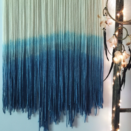 Blue Tide Bohemian Wall Hanging