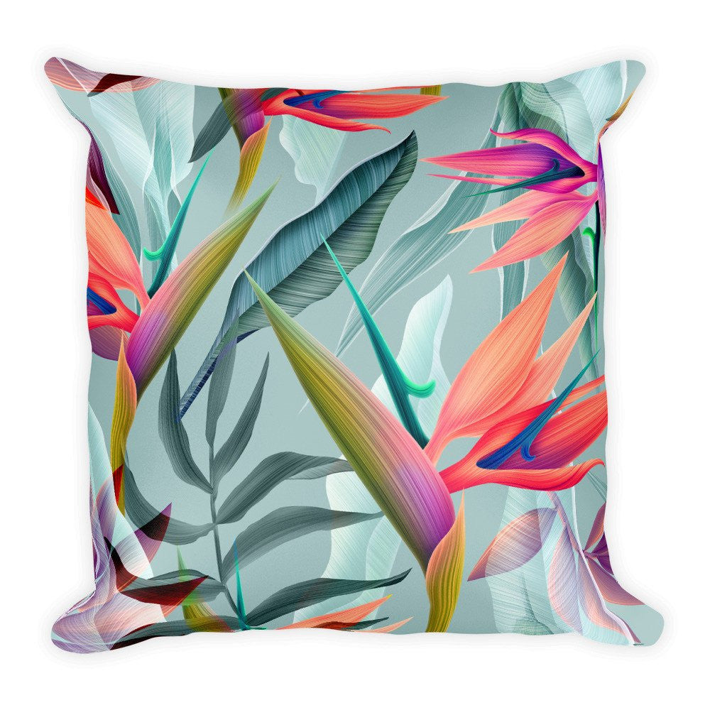 Tropical Pattern Pillow