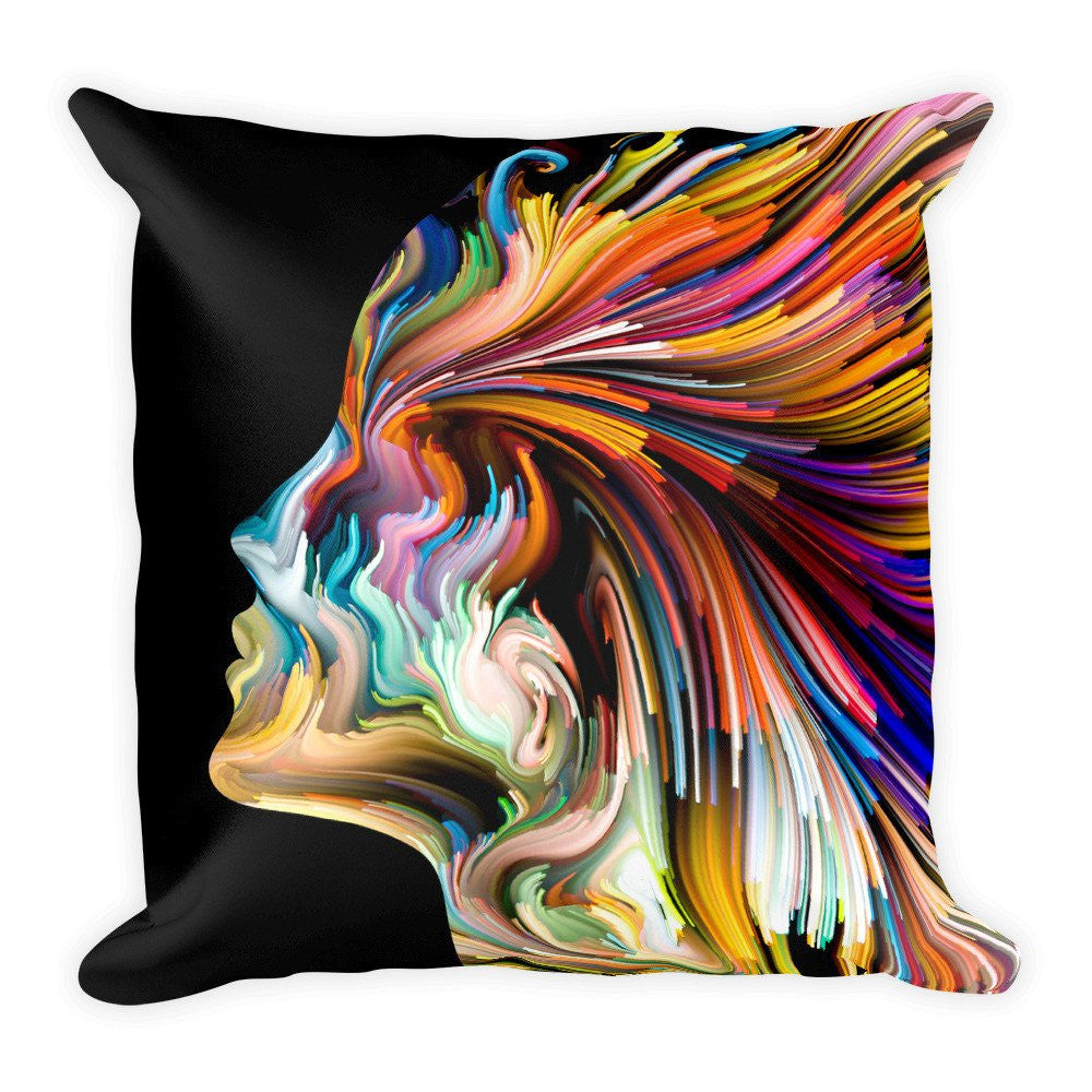 Color Of The Mind Pillow