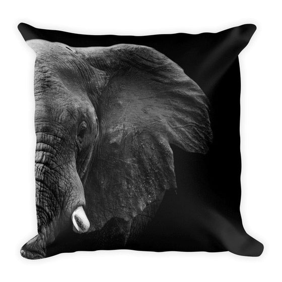 Elephant Portrait Pillow