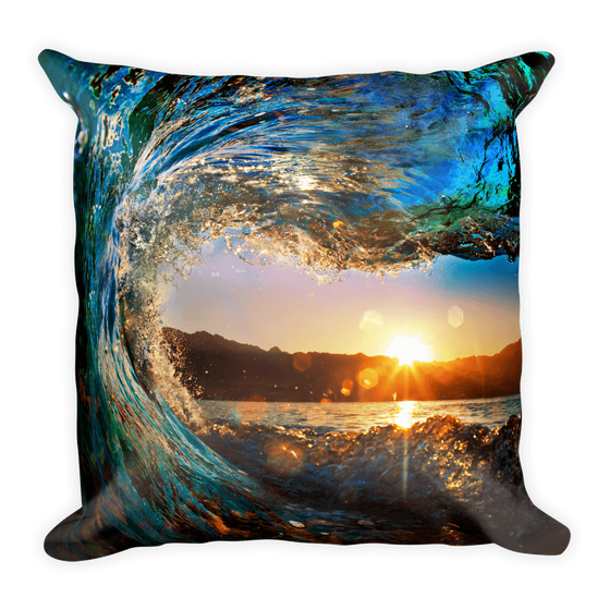 Eye Of The Wave Pillow