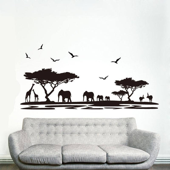 Elephant Wall Sticker