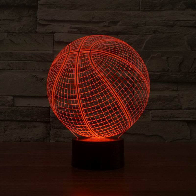3D Basketball Lamp - readysetdecor