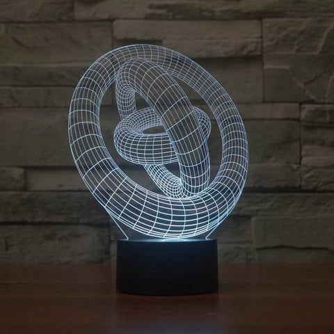Abstract 3D Lamp