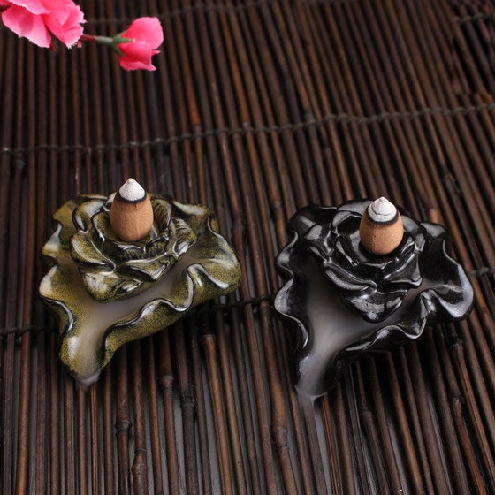 Small Lotus Incense Burner