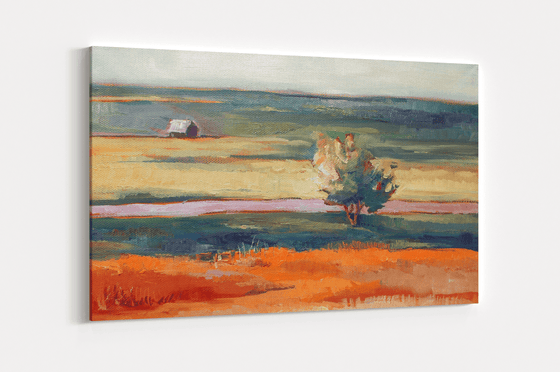 Homestead Single Canvas