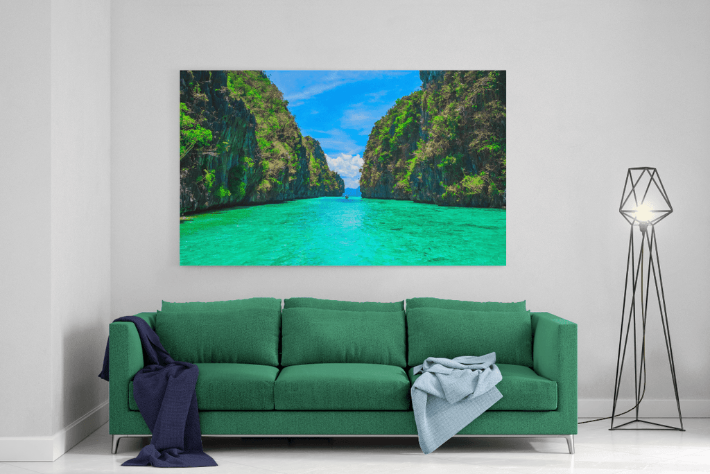Path To Paradise Single Canvas
