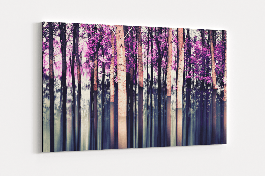 Violet Forest Single Canvas