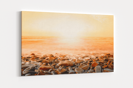 Ocean Front Single Canvas