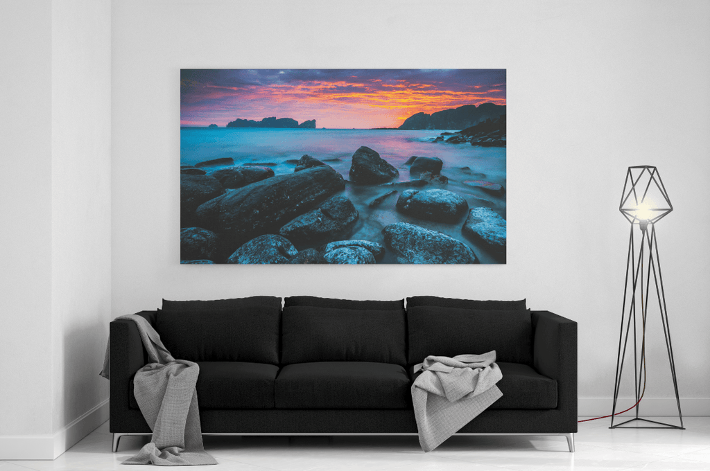Blue Morning Single Canvas