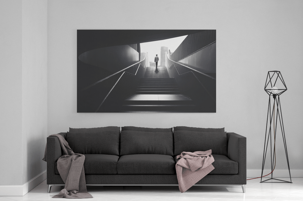 Staircase Single Canvas