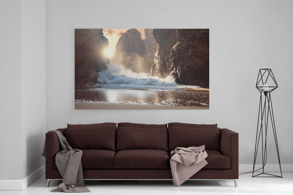 Power Of The Ocean Single Canvas