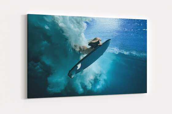 Surfer Girl Single Canvas