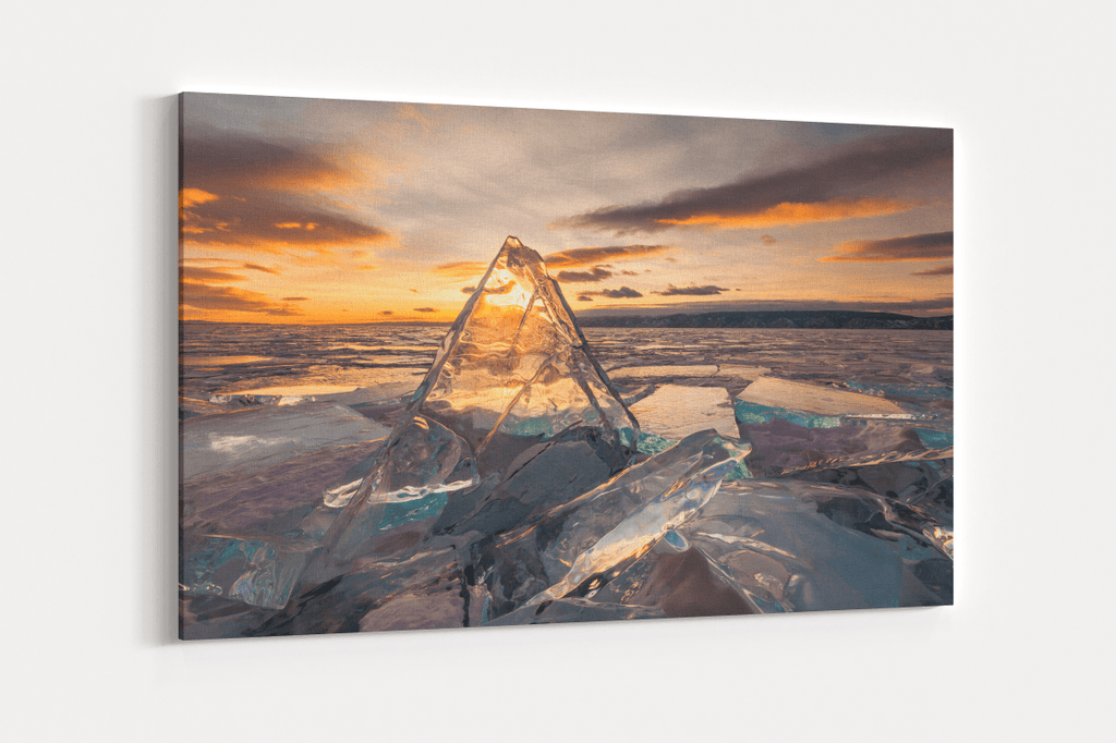 Ice Field Single Canvas