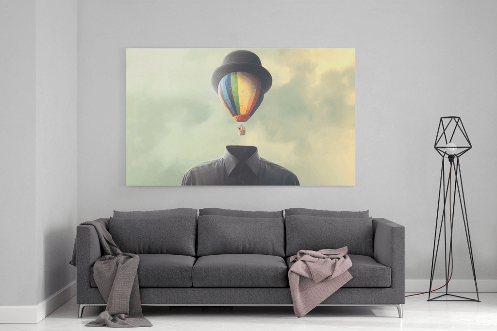 Mystery Man Single Canvas