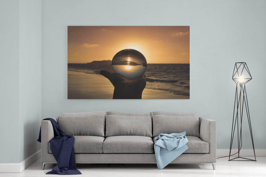 Crystal Sun Single Canvas