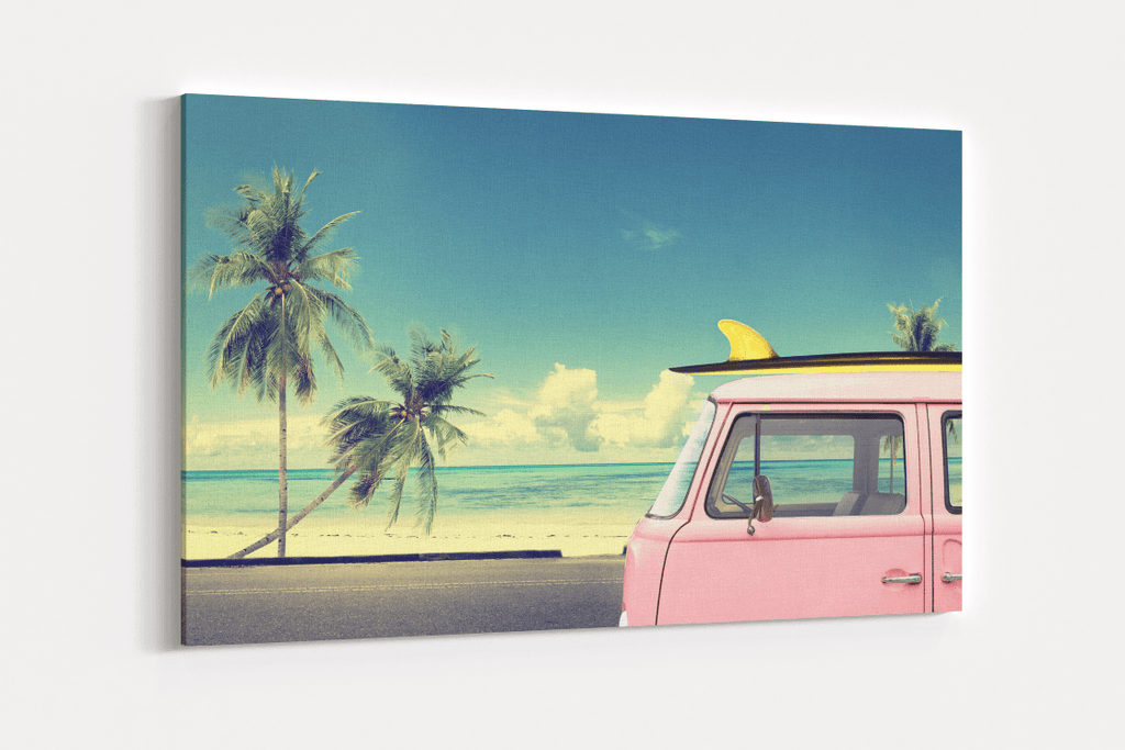 Nomadic Surfer Single Canvas