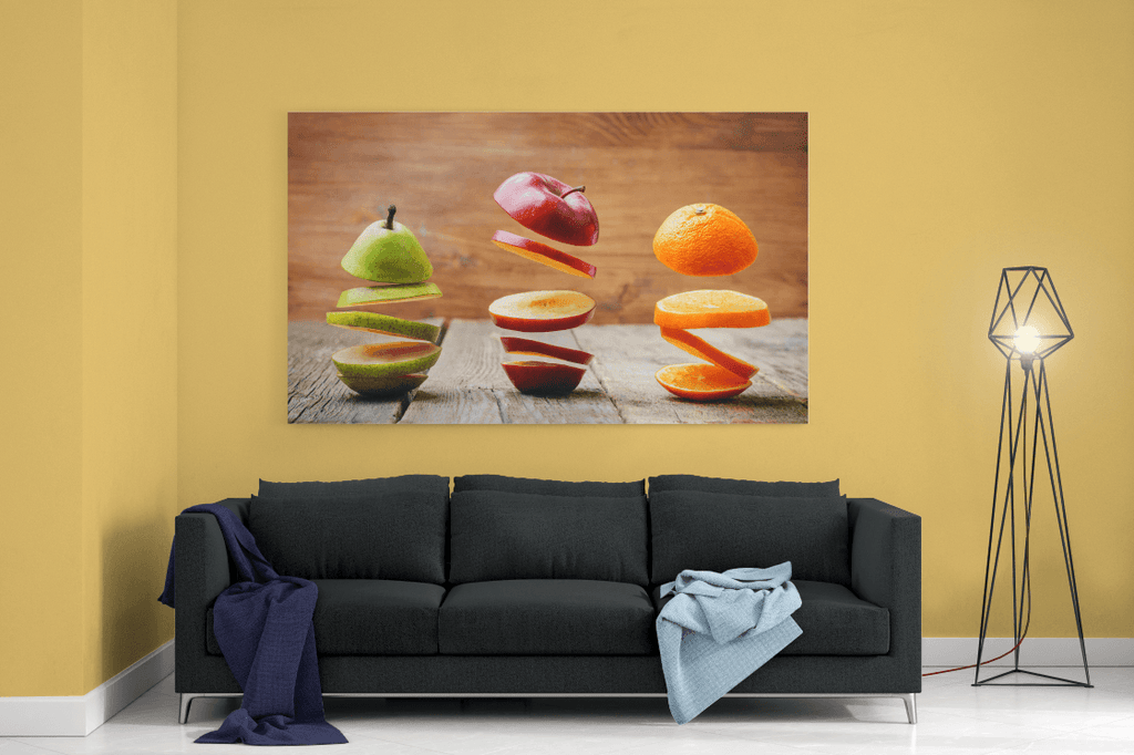 Sliced Fruit Single Canvas