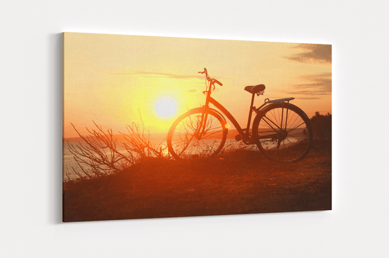 Sunset Ride Single Canvas