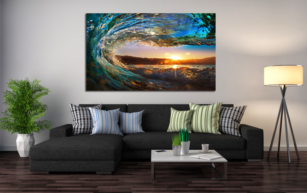 Eye of Wave Single Canvas