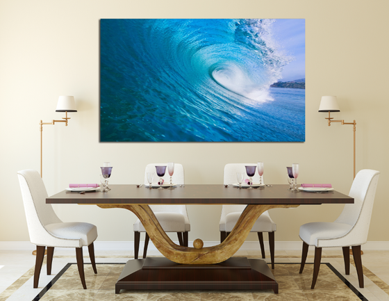 Eye Of The Wave Panel Painting