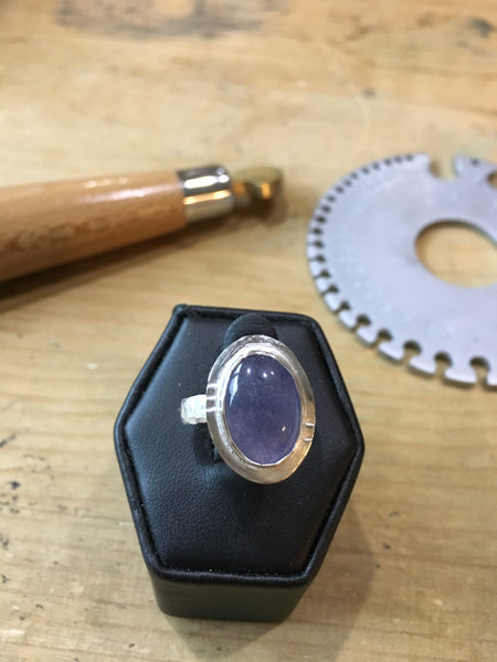 Bezel Set Gemstone Ring Workshop