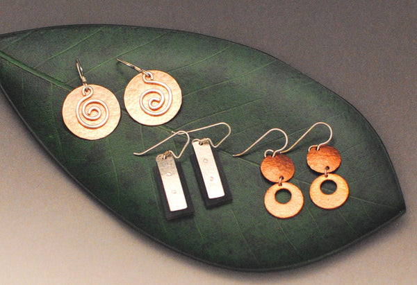 Mixed Metals Earrings Workshop  (Earrings-A-Palooza)