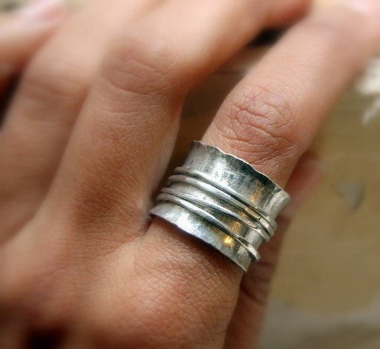 Sterling Silver Spinner Rings Workshop