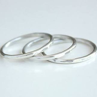 Sterling Silver Stacking Rings Workshop