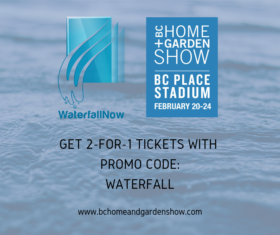 BC Home + Garden Show February 20-24, 2019 Booth #1018